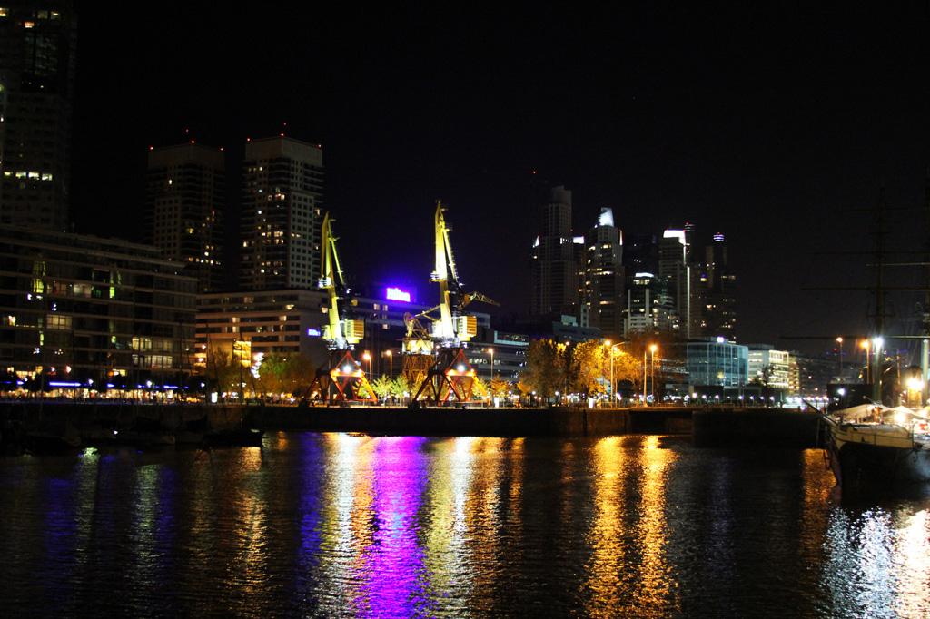 Буэнос Айрес ночью -отчет о путешествии-17