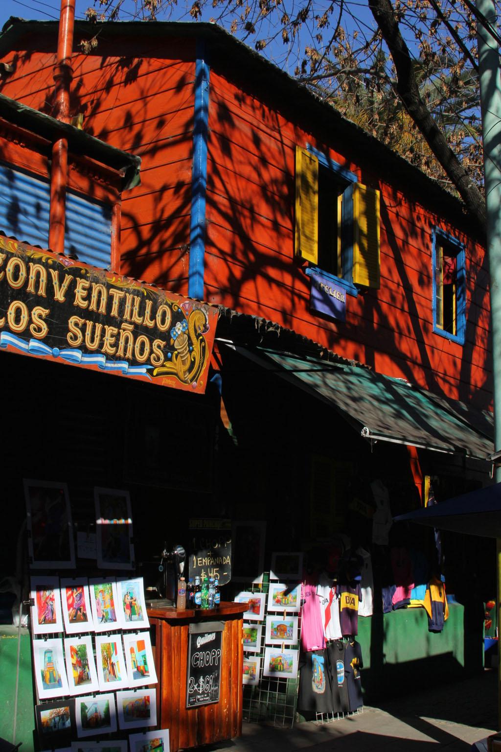 Эль Каминито Ла Бока Буэнос Айрес