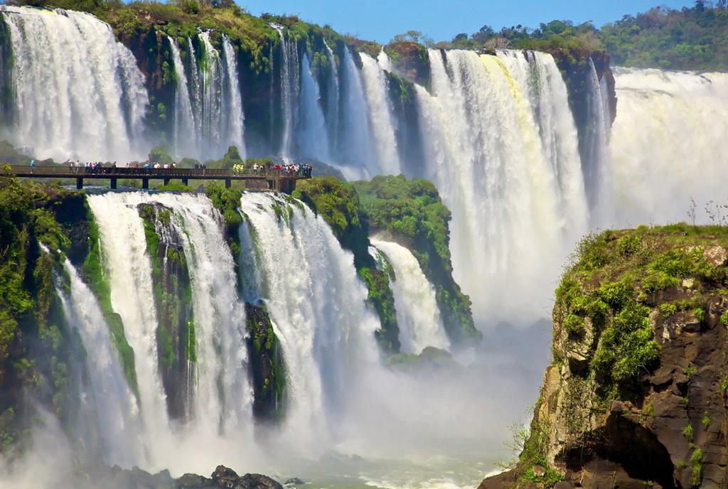 Самые большие водопады мира