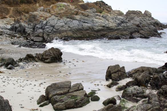 Пляж в Альгарробо