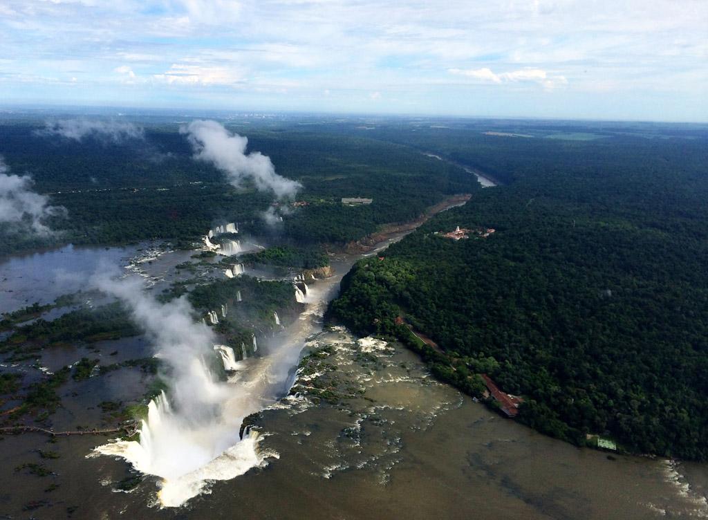 полет на вертолете над Игуасу - отзыв в блоге