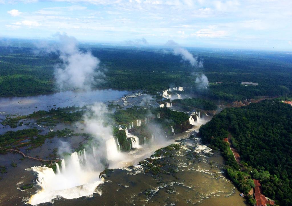 Вертолетная экскурсия над Игуасу в Бразилии, фото и отзыв -5