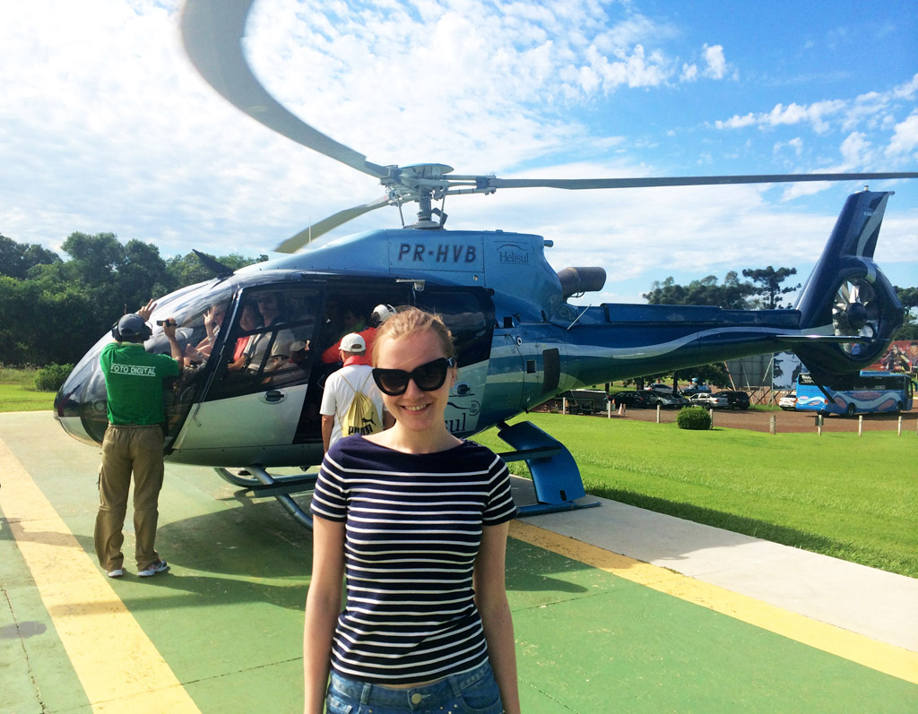 Вертолетная экскурсия над Игуасу в Бразилии, фото и отзыв -6