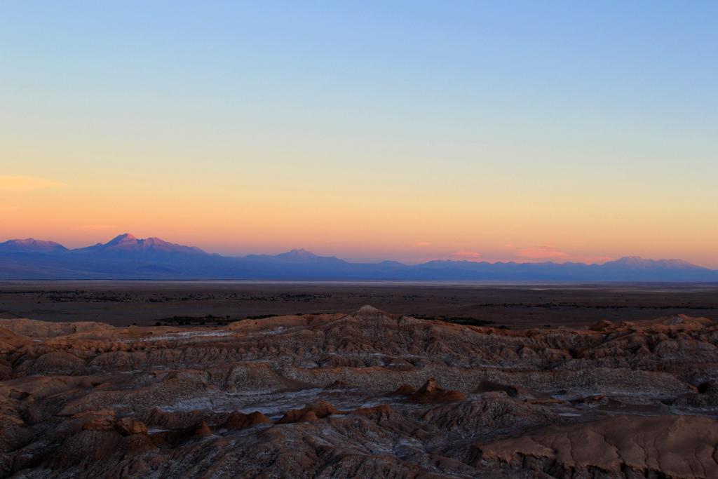 Долина Луны в пустыне Атакама, смотровая площадка-2