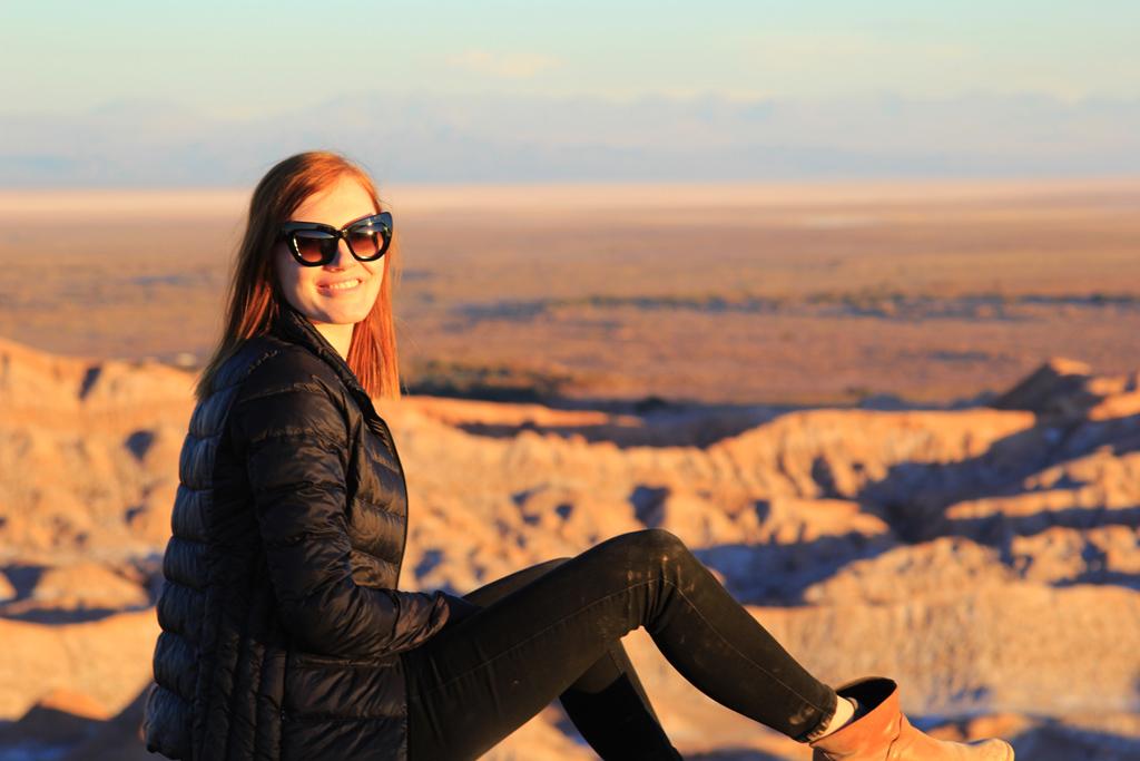 Долина Луны в пустыне Атакама, смотровая площадка-5