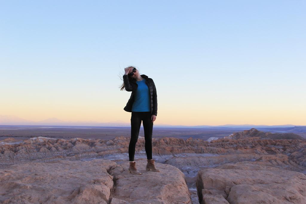 Долина Луны в пустыне Атакама, смотровая площадка-6