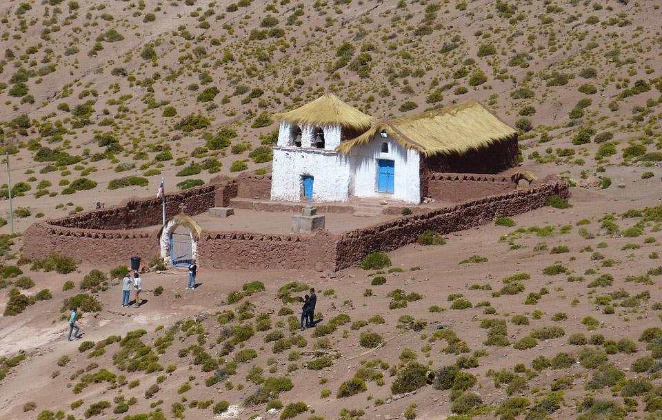 деревня Сокайре, Чили, Атакама
