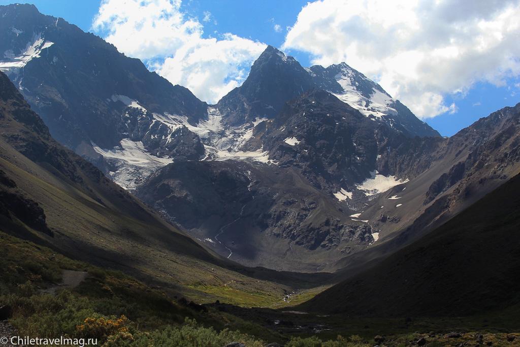 Monumento El Morado, треккинг Чили Cajon Del Maipo-11