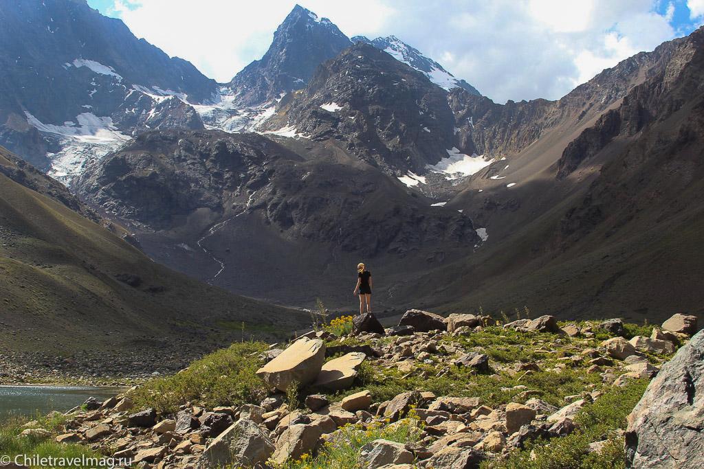 Monumento El Morado, треккинг Чили Cajon Del Maipo- отзыв в блоге о путешествиях по Чили