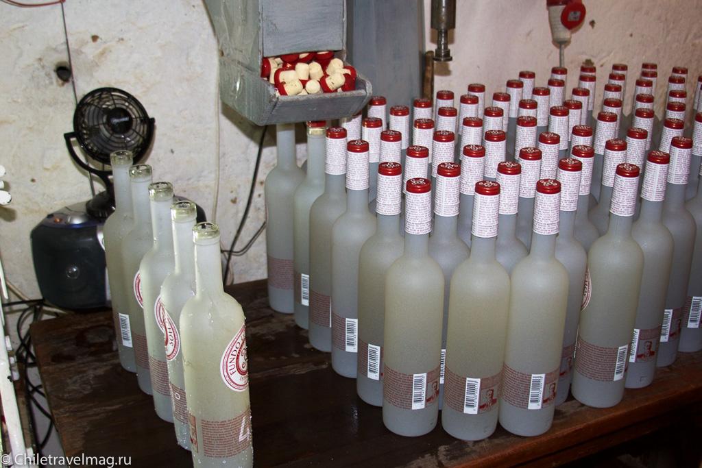 Напиток писко, Чили, Писко Эльки-8