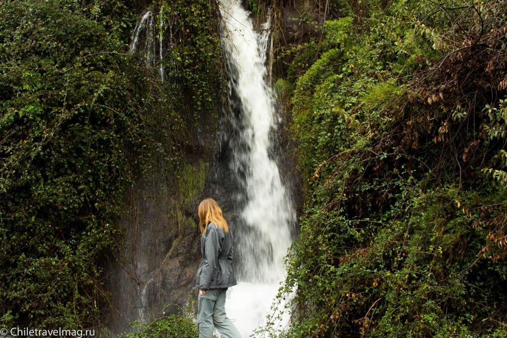 Поездка на машине по югу Чили, Romeral, Los Queñes-21