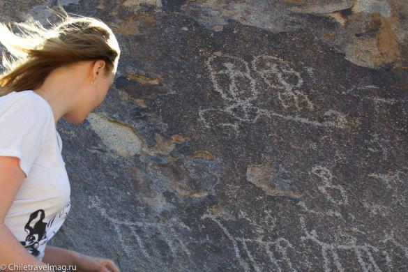 Долина Ельки петроглифы в Чили