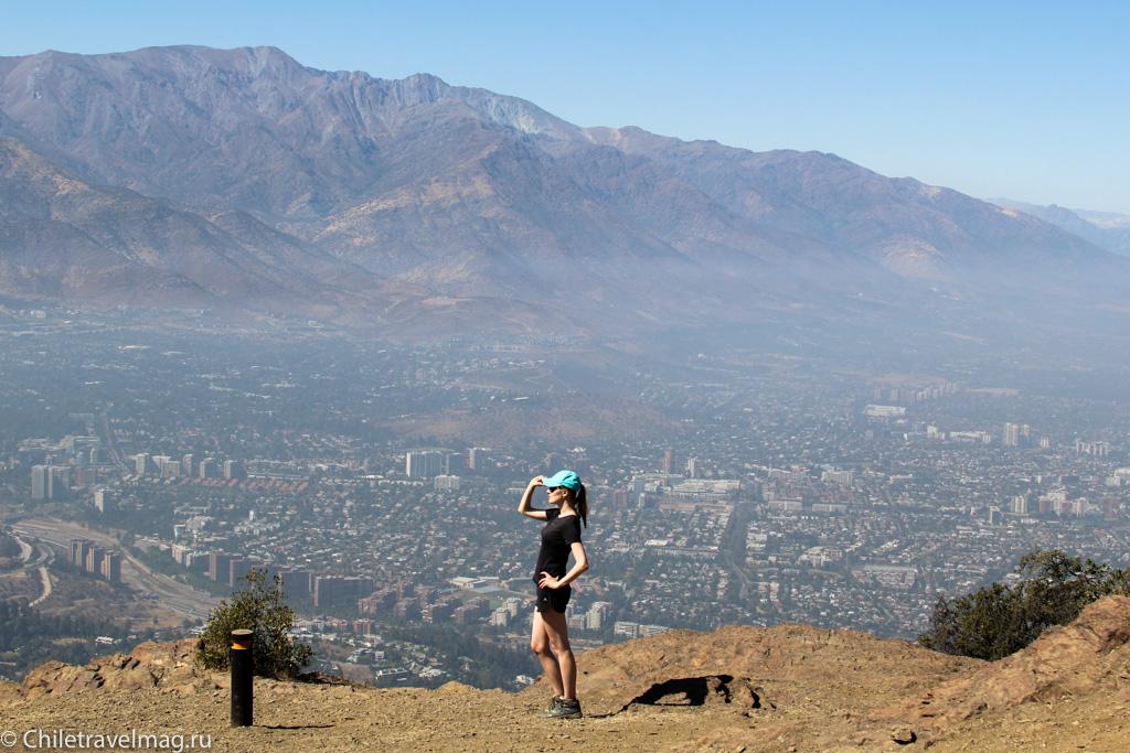 Trekking Manquehuito Santiago Chile, треккинг в Сантьяго Чили Манкеуито-7