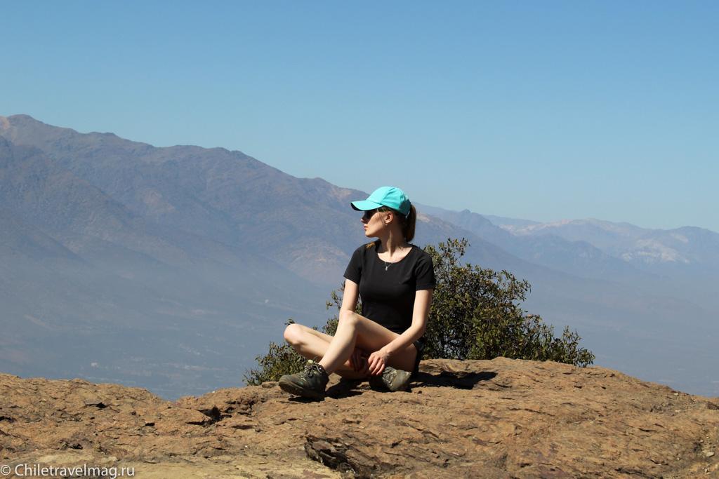 Trekking Manquehuito Santiago Chile, треккинг в Сантьяго Чили Манкеуито-9