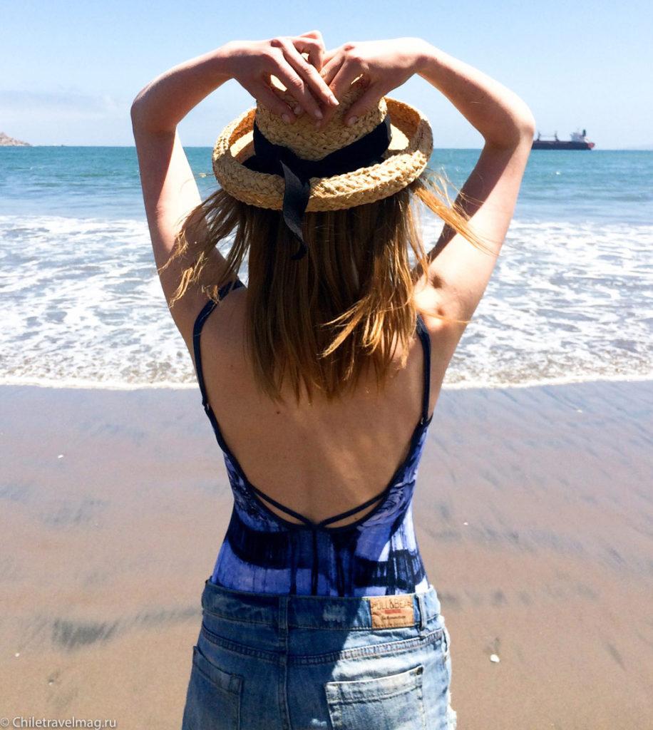 Пляжи в Чили отзыв Ла-Серена, Кокимбо-2