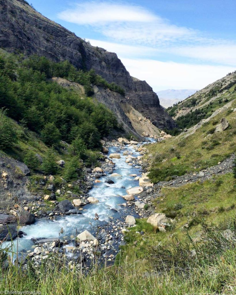Треккинг в Чилийской Патагонии