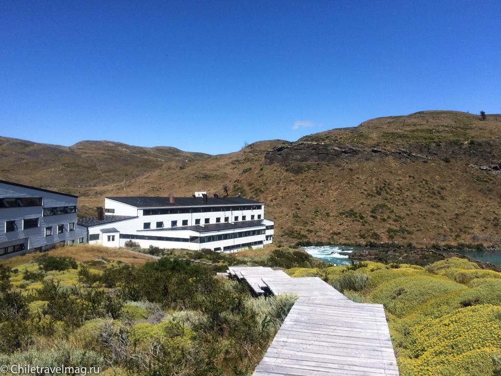 Поездка в Торрес дель Пайне отель Explora