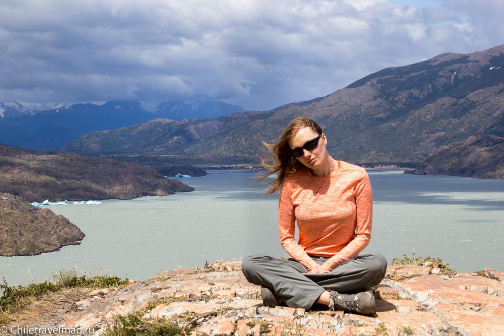 Торрес дель Пайне Чили ледник Грей треккинг отзыв в блоге-10