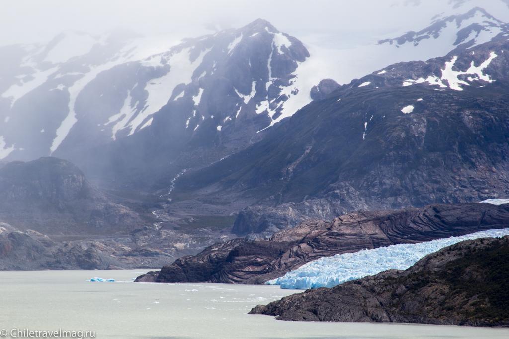 Торрес дель Пайне Чили ледник Грей треккинг отзыв в блоге-15