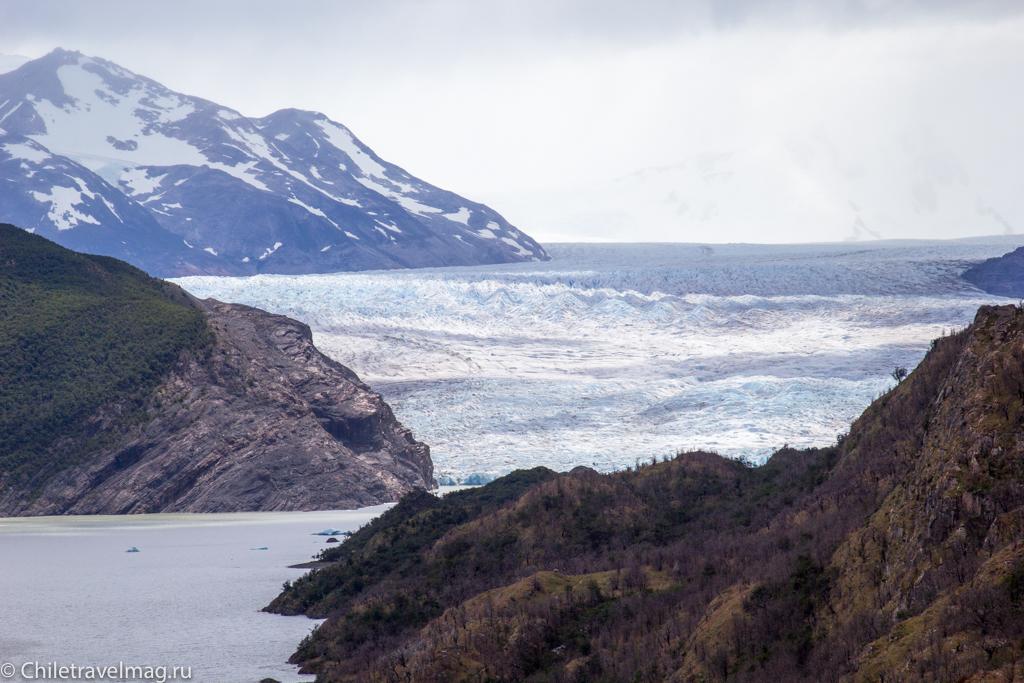 Торрес дель Пайне Чили ледник Грей треккинг отзыв в блоге-18