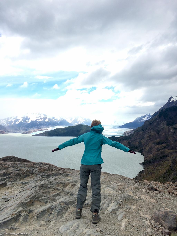 Торрес дель Пайне Чили ледник Грей треккинг отзыв в блоге-4