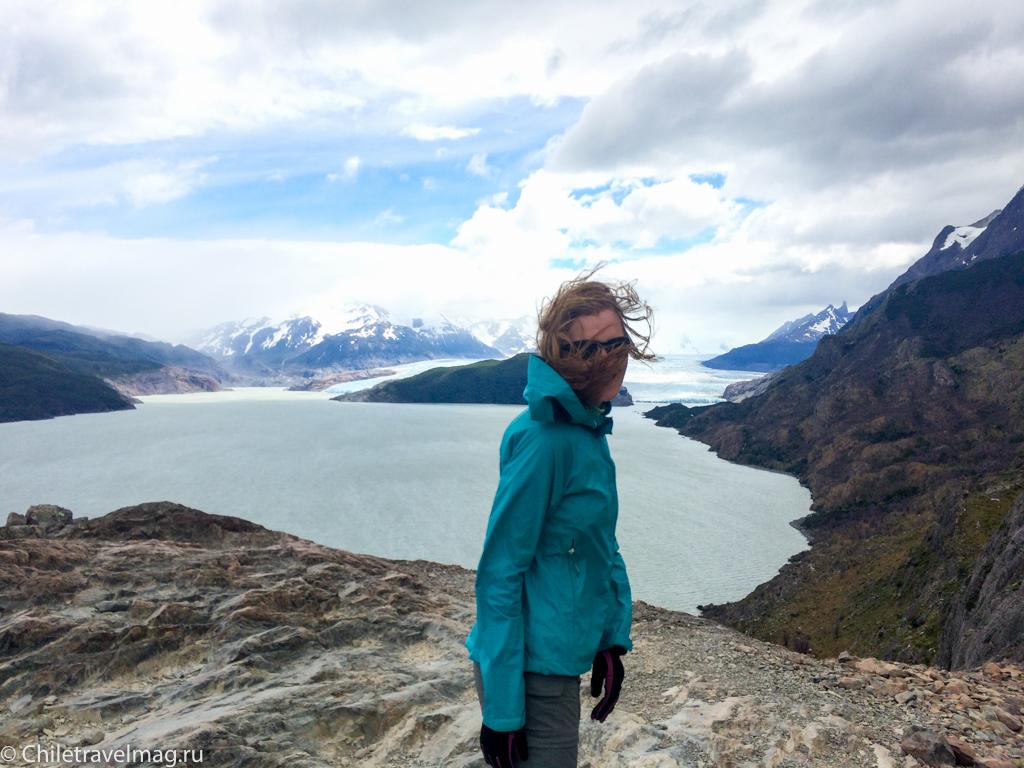 Торрес дель Пайне Чили ледник Грей треккинг отзыв в блоге-5