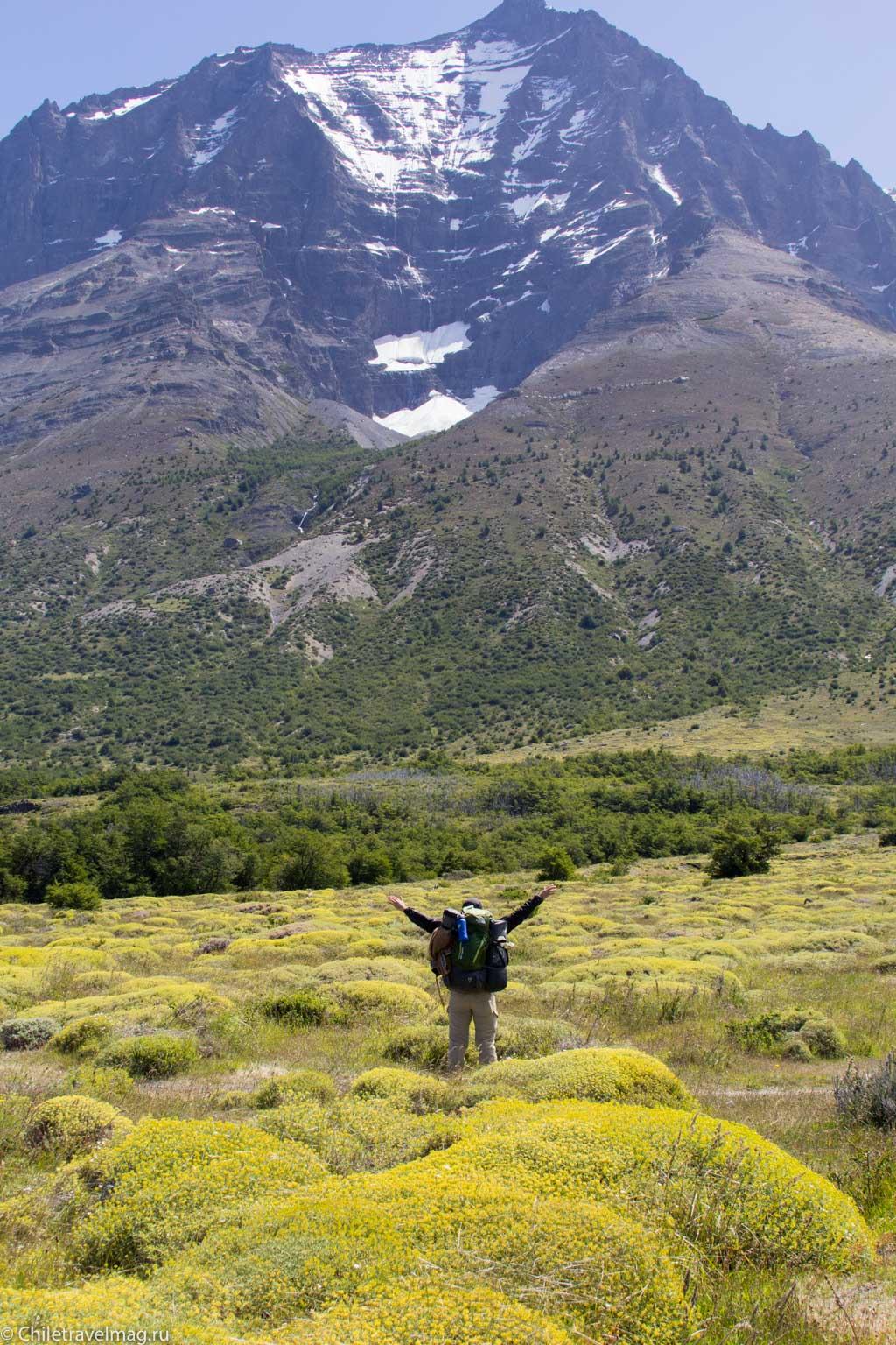 Чили Патагония,Торрес-дель-Пайне Треккинг по маршруту W