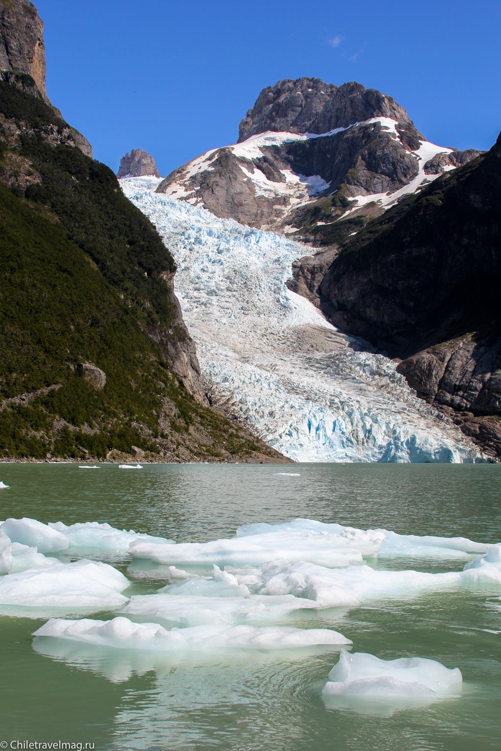 ледники Бальмаседа и Серрано