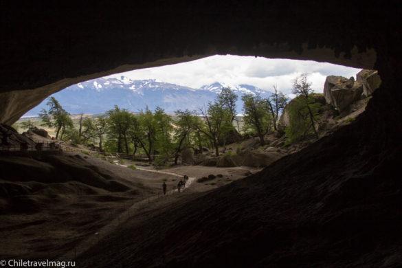 Пуэрто Наталес, Пещера Милодона Чили фото-19