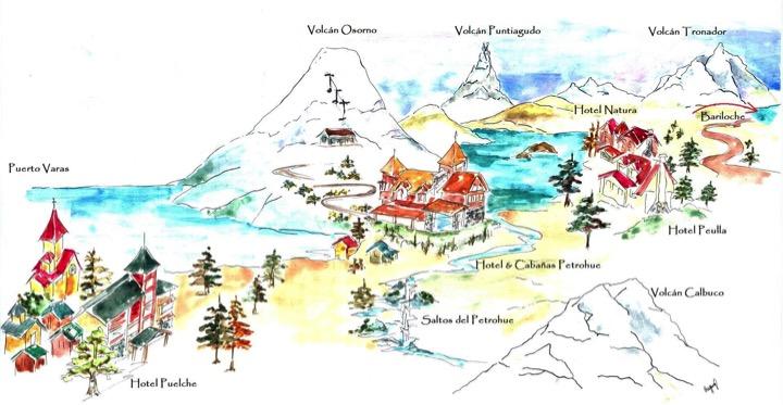 карта Петроуэ