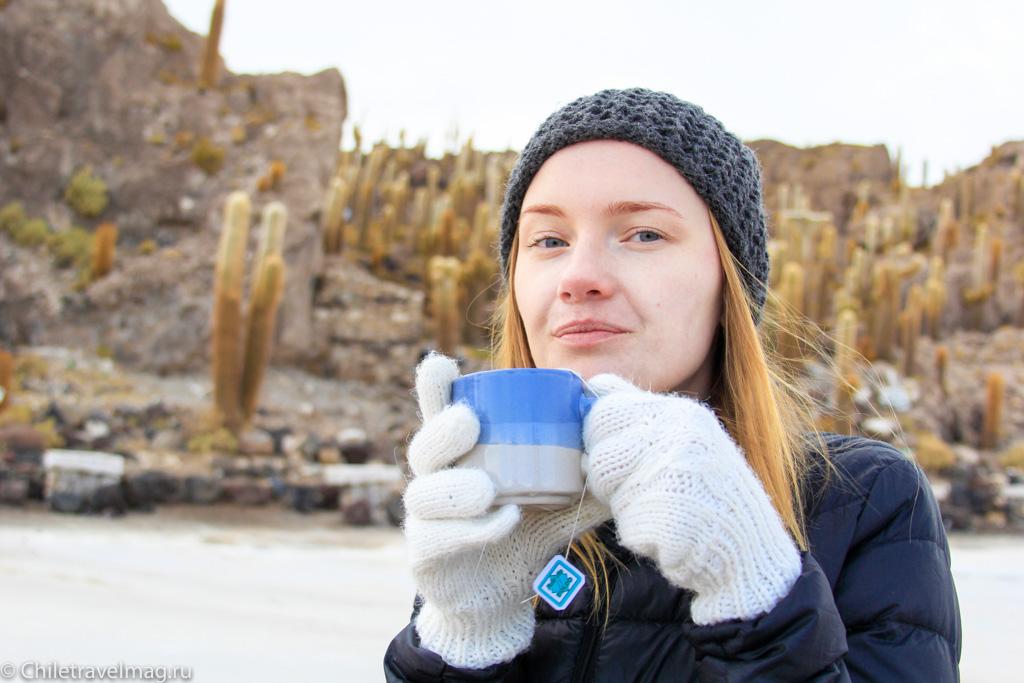 Cолончак Уюни на рассвете отзыв о поездке в блоге-13