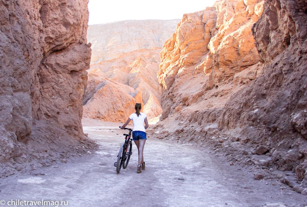 Велосипеды в Атакаме по Долине ЛуныMGВелосипеды в Атакаме по Долине Луны9612