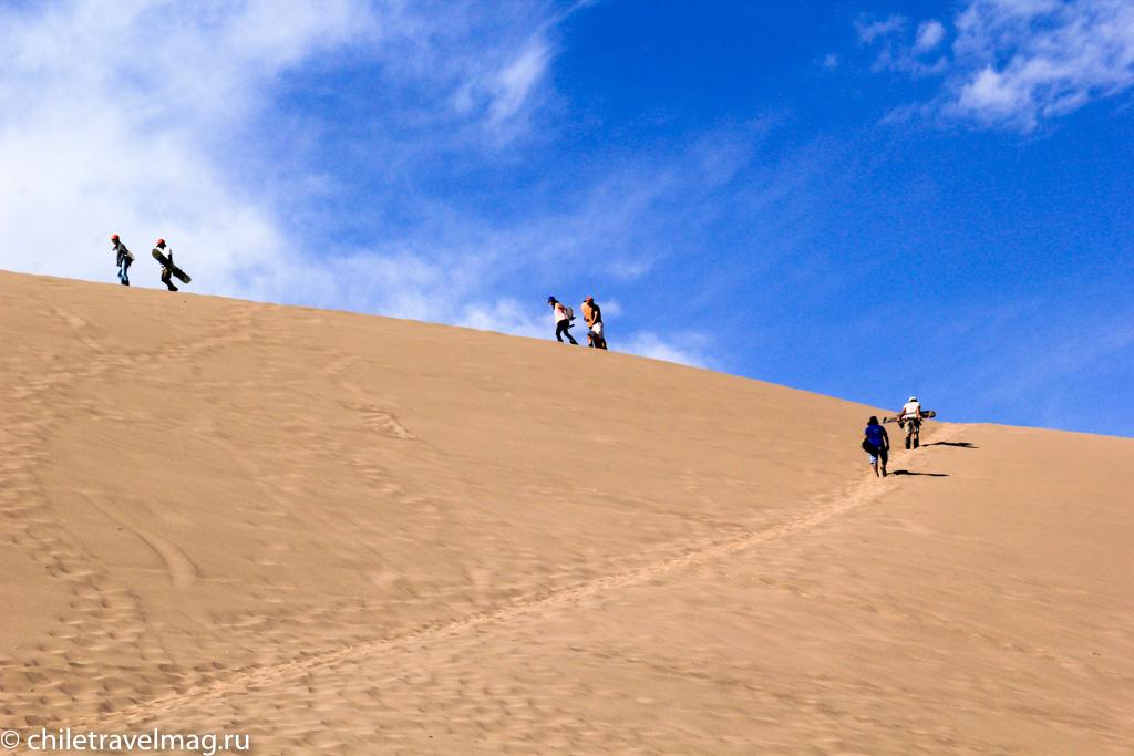 Cанборд в пустыне Атакама Чили7