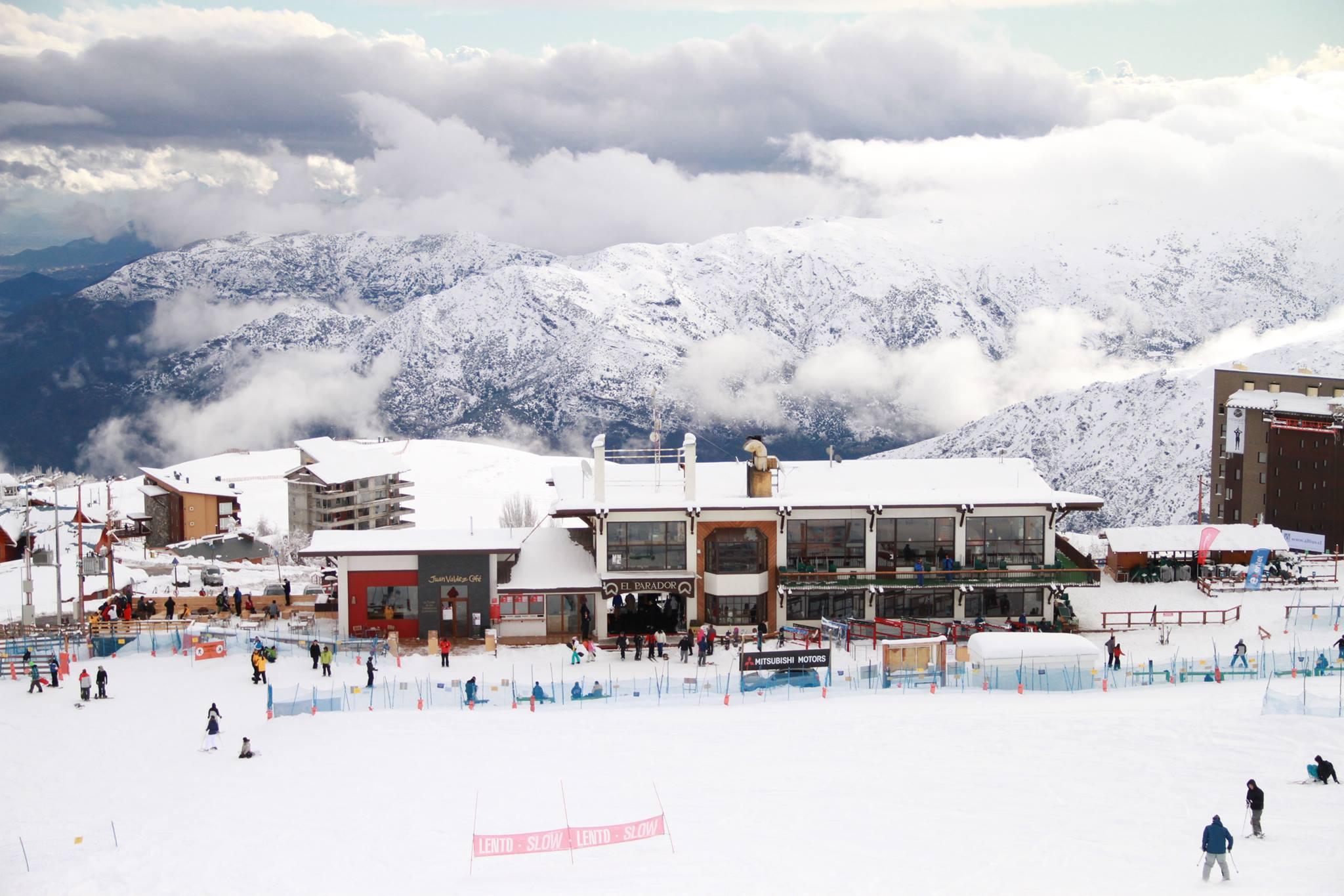горнолыжный курорт Анды Эль Колорадо