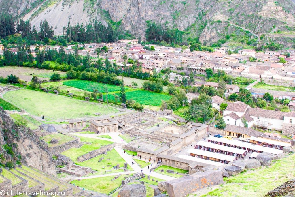 Cвященная Долина в Перу Ольянтайтамбо-отзыв в блоге Chiletravelmag9