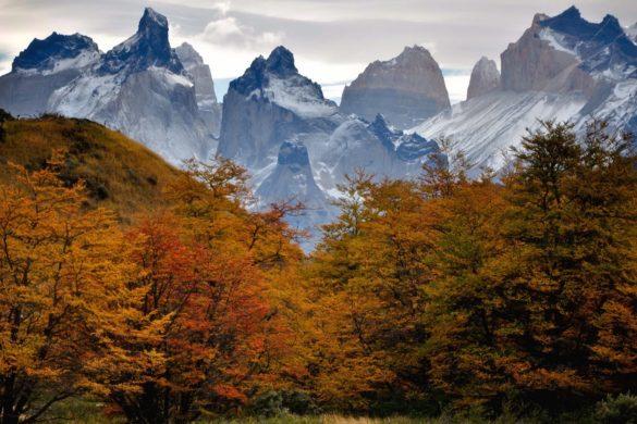 торрес дель пайне осенью