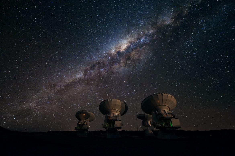 чили астрономический тур
