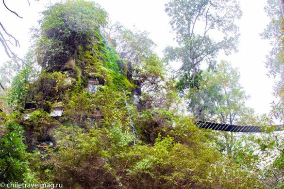Отель Волшебная гора в Чили