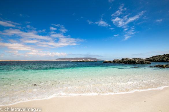 Баия Инглеса пляж в Чили14