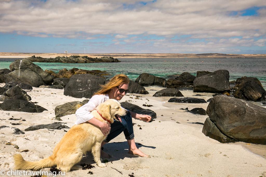 Баия Инглеса пляж в Чили8