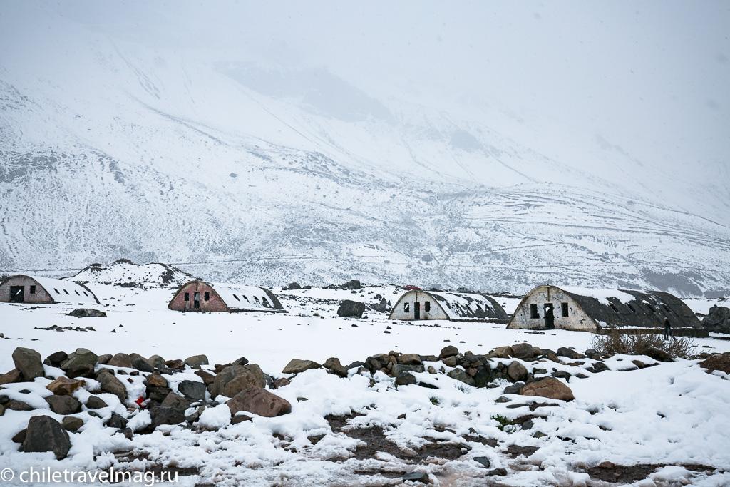 Горное водохранилище в Андах Чили1