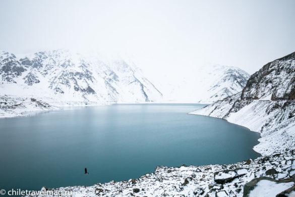 Горное водохранилище в Андах Чили12