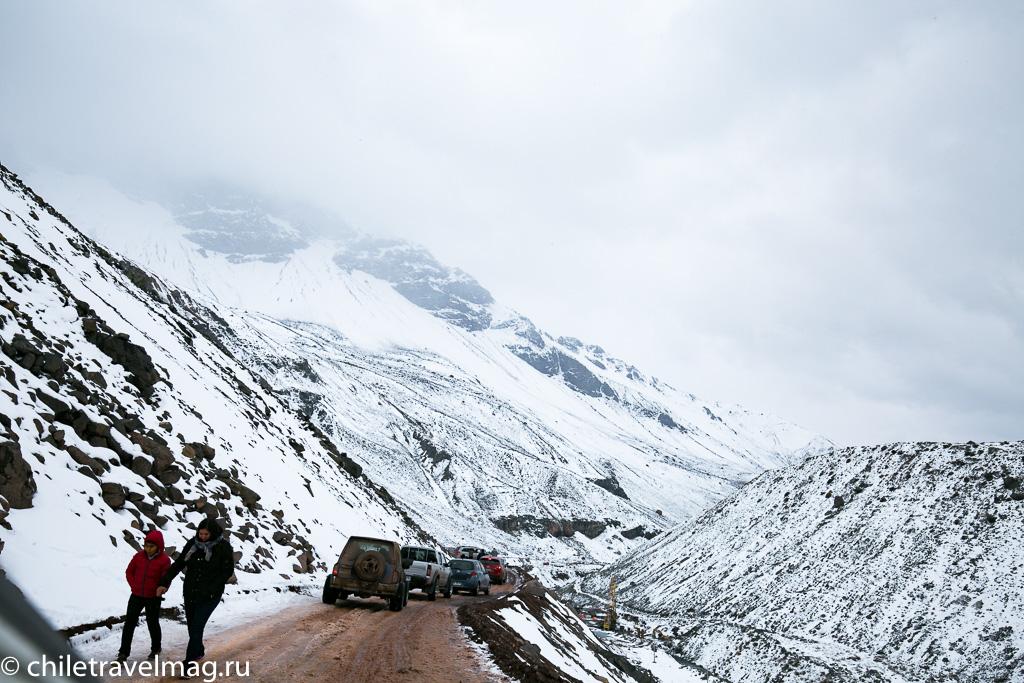 Горное водохранилище в Андах Чили19
