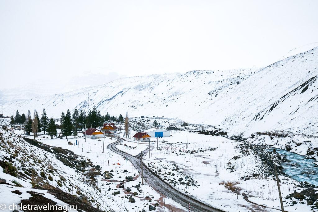 Горное водохранилище в Андах Чили23