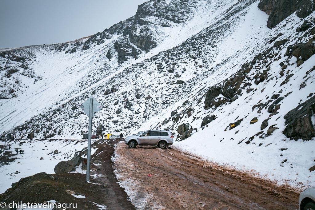 Горное водохранилище в Андах Чили4