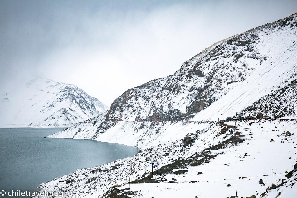 Горное водохранилище в Андах Чили6