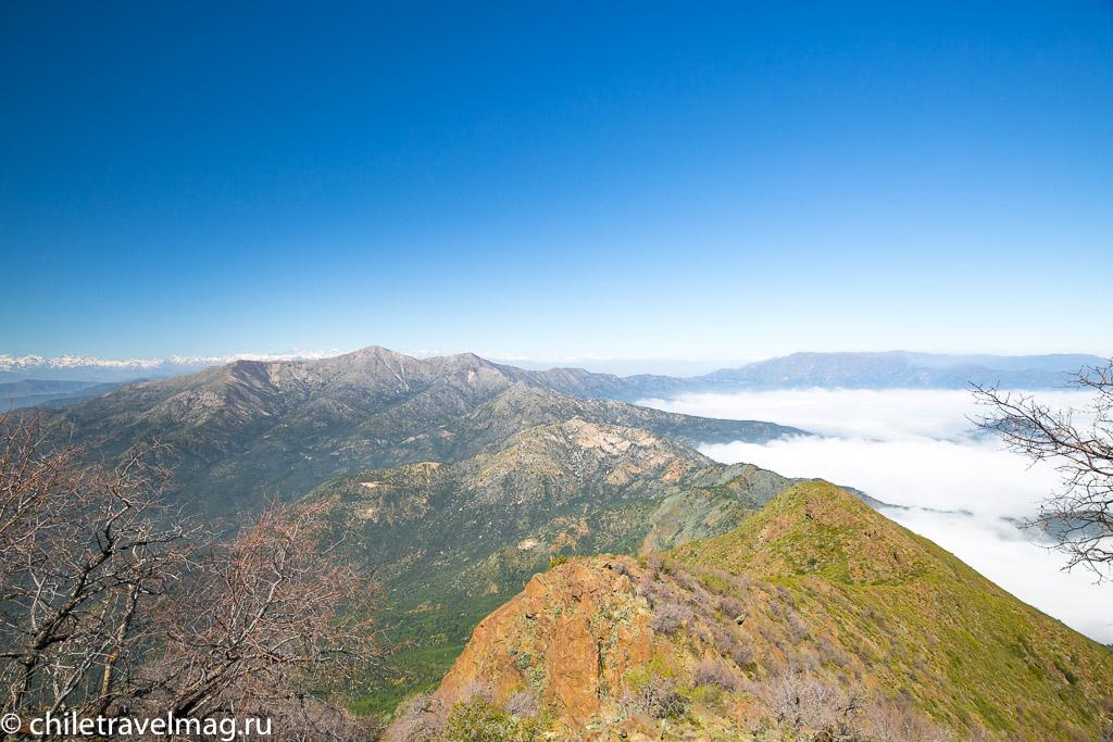 Парк Ла Кампана треккинг горы Чили11