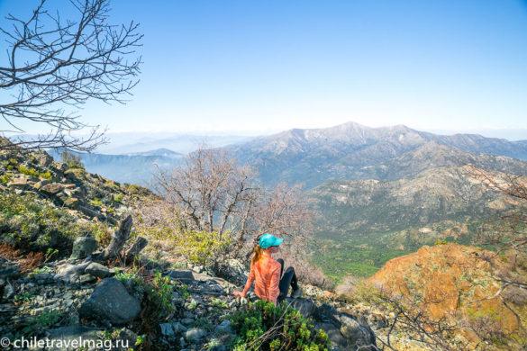 Парк Ла Кампана треккинг горы Чили16
