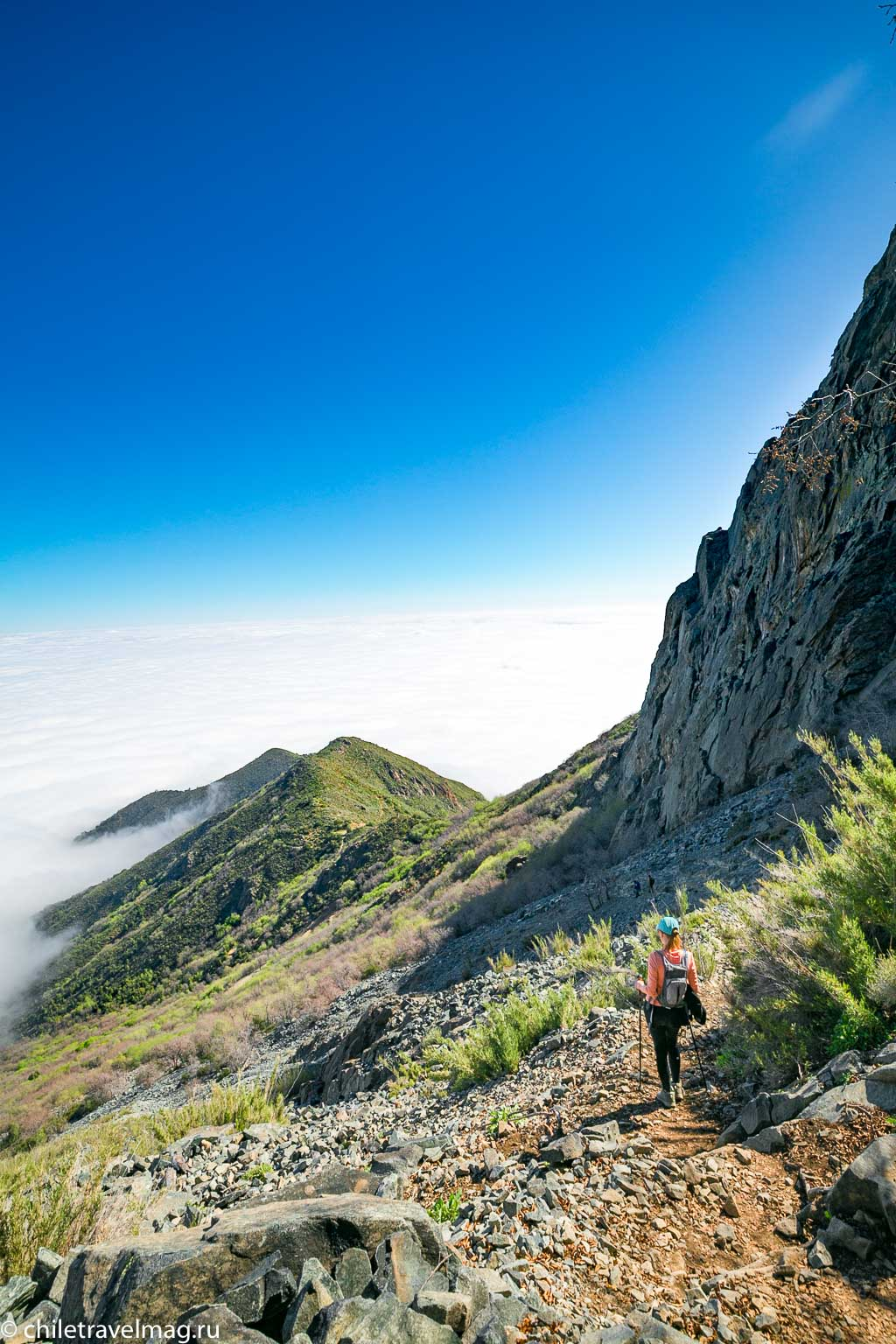 Парк Ла Кампана треккинг горы Чили18