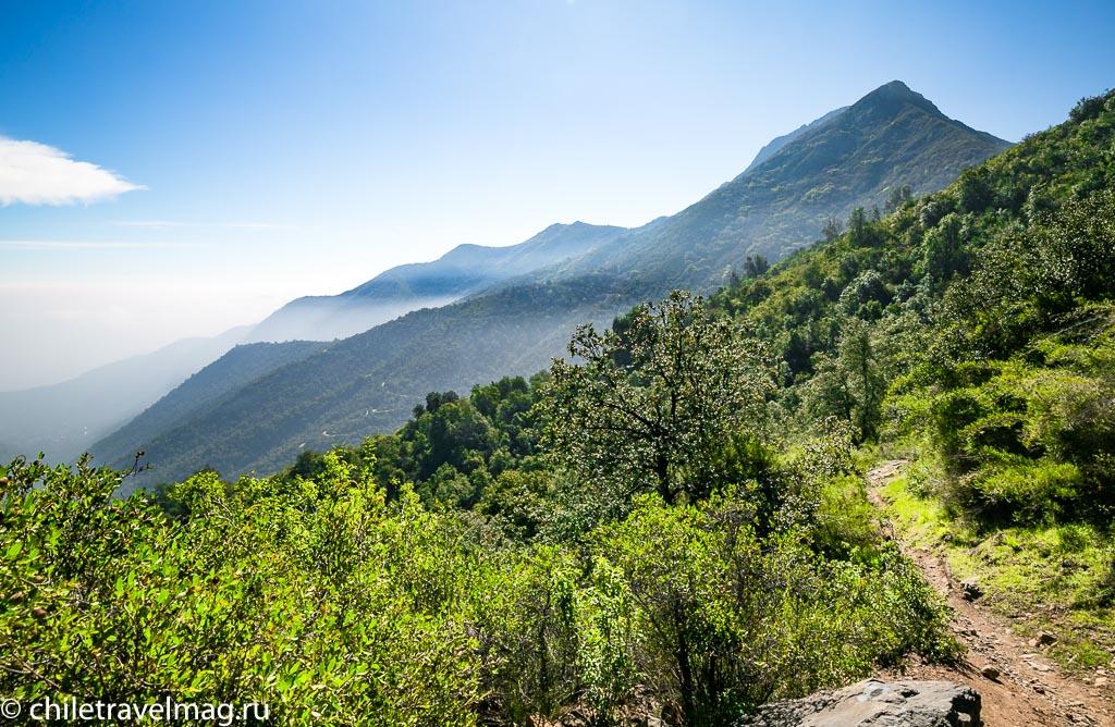 Парк Ла Кампана треккинг горы Чили2
